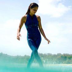 Love this shot... @josie_prendergast walking on water...