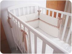 Cómo hacer una chichonera para cuna de bebé – DIY