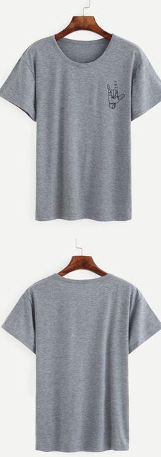 Just wanna many many t-shirt. Love casual, love cozy style! Heather Grey Love…