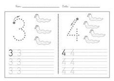 Fitxes caligrafia numeros 1 9 Preschool Number Worksheets, Numbers Preschool, Educational Robots, Finger Plays, Step Kids, Classroom Crafts, In Kindergarten, First Grade, Kids Toys