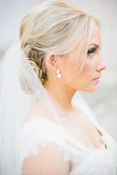 Chic Bridal Updo