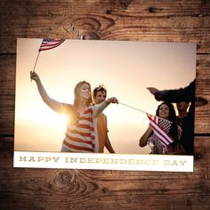 Independence Banner | Independence Day Card Collection #InkCards