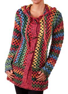 KHUJO Damen Cardigan Thite multicolor S M L XL Damenjacke Strickjacke Jacke in Kleidung & Accessoires, Damenmode, Jacken & Mäntel | eBay!