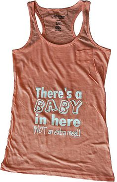 Silly Baby - 1st Trimester Tank     by J.Lynn  $19.95
