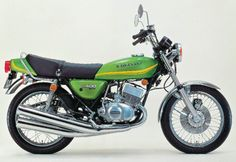KH 400, 1976. I'd love to have one of these as well