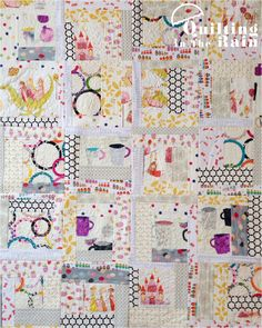 Quilt as you Go Log Cabin - Quilting Tutorials and Fabric Creations | Quilting In The Rain