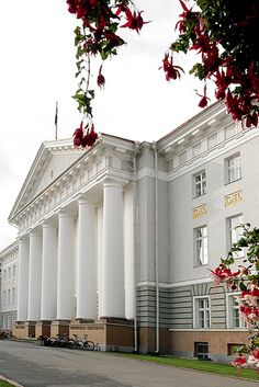 University, Tartu  ♡ #VisitEstonia #ColourfulEstonia.       ...Shared by Vivikene