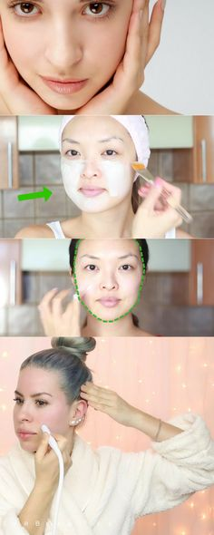 How to Make Pores Disappear! | Use 2 elements to reduce pores and have a clean face