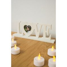 Love heart freestanding photo frame. £7.50 #shop #love #photoframe