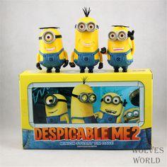 $33.28 (Buy here: https://alitems.com/g/1e8d114494ebda23ff8b16525dc3e8/?i=5&ulp=https%3A%2F%2Fwww.aliexpress.com%2Fitem%2FToy-Set-3PCS-set-Minions-toys-yellow-doll-3D-eyes-peluche-Minion-despicable-me-2-Kid%2F32490436171.html ) Toy Set 3PCS/set Minions toys yellow doll 3D eyes peluche Minion despicable me 2 Kid Toys Vinyl Boxed for Gift 0322 for just $33.28