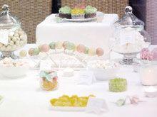 Candy Bar origami para bodas. Wedding. Mesa de dulces.