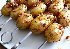 patates Grilled Potato Recipes, Best Potato Recipes, Vegan Recipes, Favorite Recipes, Drink Recipes, Yummy Recipes, Barbecue, Backyard Barbeque, Bbq Grill