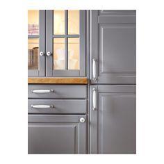 New kitchen ikea bodbyn grey glass doors ideas Cheap Furniture, Kitchen Furniture, Kitchen Interior, New Kitchen, Kitchen Design, Bedroom Furniture, Kitchen Grey, Kitchen Tips, Ikea Bodbyn