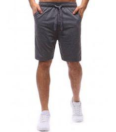 Pánske antracitové teplákové kraťasy Patterned Shorts, Denim Shorts, Men, Dresses, Fashion, Vestidos, Moda, Printed Shorts, Fashion Styles