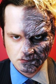 Awesome 60+ Best Halloween Makeup Ideas For Men Check more at http://24myfashion.com/2016/60-best-halloween-makeup-ideas-for-men/