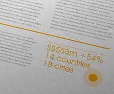 Avant Garde Annual Report 2012 by Lemongraphic , via Behance