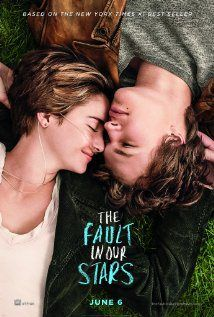 """ Fault in our stars"" film, movie poster, ulasan film, movie review,shailene woodley, ansel elgort"