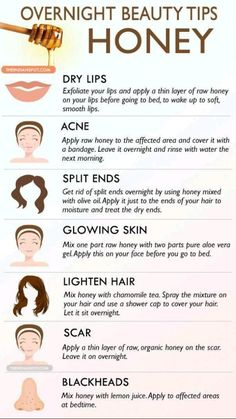 Beauty Tips With Honey, Beauty Tips For Skin, Natural Beauty Tips, Beauty Skin, Natural Skin Care, Skin Care Tips, Beauty Ideas, Skin Tips, Beauty Guide
