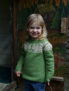 Ravelry: Sweet William pattern by Ann Kingstone One day I would like to have the colourwork skills to knit this!