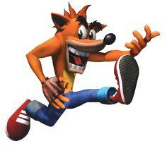 Crash Bandicoot invisible guitar lol