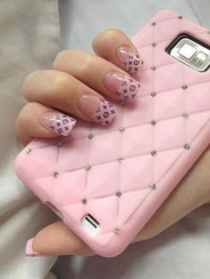 Amazing Pink Nail Art Designs For Valentine's Day - Fashonails Colorful Nail Designs, Cute Nail Designs, Acrylic Nail Designs, Acrylic Nails, Awesome Designs, Pink Nail Art, Pink Nails, Pink Manicure, Matte Nails