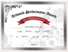 talent show certificate template - pin by alizbath adam on certificates pinterest award
