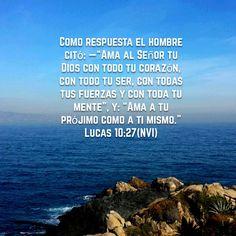 ¿Qué hacer para tener vida eterna?   Lucas 10:27  «—Bien contestado —le dijo Jesús—. Haz eso y vivirás.» Lucas 10:28 NVI http://bible.com/128/luk.10.28.nvi