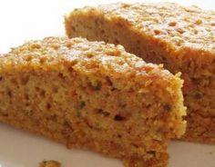 Torta di carote e yogurt | + mandorle, farina integrale e meno zucchero