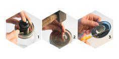 tutoriel Prêt-à-créer de la lampe baladeuse Mason Jar