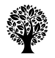 Tree Vector Images (over Tree Patterns, Stencil Patterns, Stencil Designs, Usb Ventilator, Happy Birthday Decor, Plastik Box, Cnc Cutting Design, Laser Cut Panels, Stencil Printing