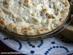 Jalapeno Popper Dip from Our Best Bites. This dip is so amazing, how is it I have only just discovered it?!