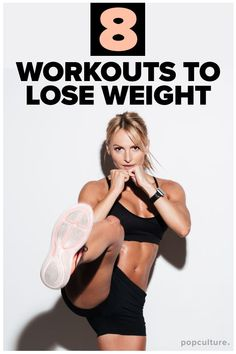 8 Best Workouts for Weight Loss. It takes determination, good diet and the right workouts to lose weight. Check out these effective (and fun) workouts that will help you lose weight fast! Weight Loss Challenge, Weight Loss Plans, Easy Weight Loss, Fitness Motivation, Fitness Tips, Workout Fitness, Losing Weight Tips, How To Lose Weight Fast, Weight Gain