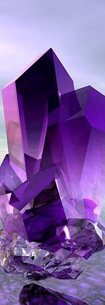 amethyst crystal |  Beautiful  Gemstones | @NYRockPhotoGirl ♥♥•♥♥ Feb Birthstone