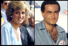 Diana hercegnő és Dodi Al Fayed Princess Diana And Dodi, Diana Dodi, Princess Diana Funeral, Princess Of Wales, Princess Diana Boyfriend, Princesa Diana, Mohamed Al Fayed, Dodi Al Fayed, Prinz William