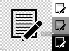 Paper Pencil Icon On Checkerboard Transparent Background Illustration #Ad, , #Aff, #Icon, #Pencil, #Paper, #Checkerboard Cool Designs, Pencil, Company Logo, Logos, Paper, Illustration, Logo, Illustrations