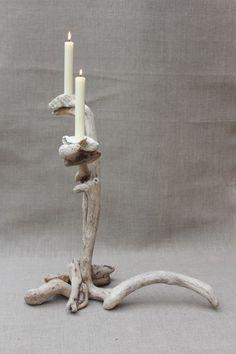 Driftwood Candle Holder 6