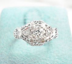 Someone's very lucky to have this beautiful Edwardian ring!