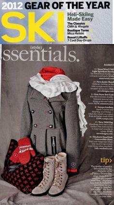 SKI Magazine, 2012 Ski Magazine, Make It Simple, Skiing, Snow, Christmas, Women, Style, Ski, Xmas