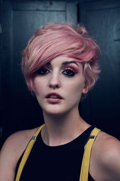 ARROJO Summer Style Inspiration As Nick Arrojo Shows Off Candy Coated Pixie Cut