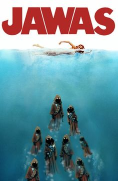 25 Awesome Spoofs Of The 'Jaws' Movie Poster.