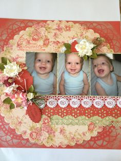 Scrapbooking Layout (designed by Leigh Cooper)