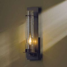 New Town Large Seeded Glass Wall Sconce