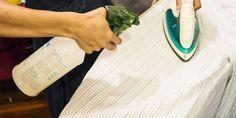 Receita de goma caseira para passar roupas