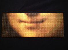 Mona Lisa smile Pixelhobby