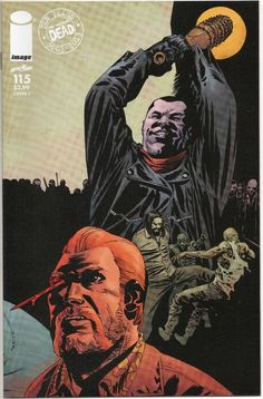 THE WALKING DEAD #115 / YEAR 9 C0VER / ALL OUT WAR / NEGAN GRIMES / IMAGE COMICS / SELLING NOW!!!