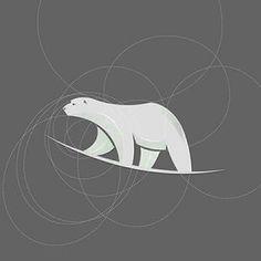 We offer premium & creative logo/branding design services. Web Design, Icon Design, Logo Inspiration, Polar Bear Logo, Share Logo, Logo Garden, Bear Graphic, Symbol Design, Animal Logo