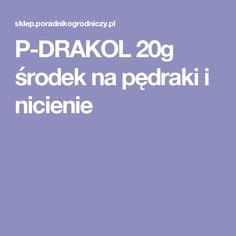 P-DRAKOL 20g środek na pędraki i nicienie