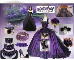 """""""Gothic Wedding"""" by frankiesreading on Polyvore"""