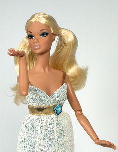 Pigtails Barbie via Flickr.