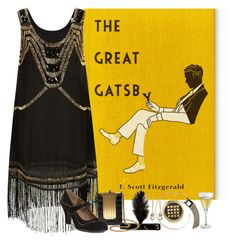 """The Great Gatsby"" by helenehrenhofer ❤ liked on Polyvore"